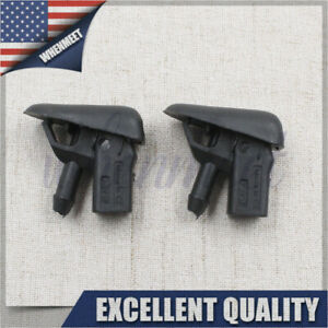 2*Windshield Washer Nozzle Sprayer C2S16868 For Jaguar X-Type 02-07