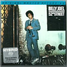 BILLY JOEL - 52nd STREET [MFSL SACD] MOFII UDSACD 2090  SEALED