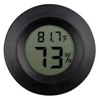 Digital Meter LCD Temperature Humidity Hygrometer Vivarium Reptile Thermometer