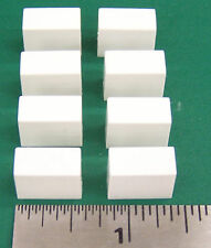 8 White Switch Caps For Eventide H910, FL201, PS101, Other Models. ZN