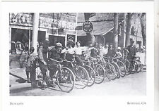 "*Postcard-""Bicyclists"" ...Getting Together in 1907- *Roseville, CA (#141)"