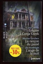 Livre Harlequin..COLLECTION BLACK ROSE..n° HS.....3 Romans