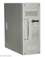 Sound Proof Micro ATX Desktop Tower Chassis / Case. With PSU. Sound Proof CS101