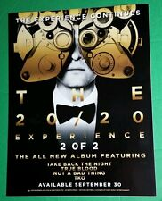 Justin Timberlake 20/20 Experience 20F2 Rare Photo Poster Large Window Cling
