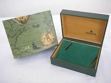VINTAGE ROLEX Case Box Caja Scatola Kasse Boite Kutxa Caixa 10 001 OUTER & INNER