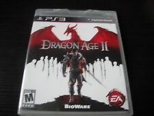Playstation PS 3 PS3 Brand New Dragon Age II Factory Sealed