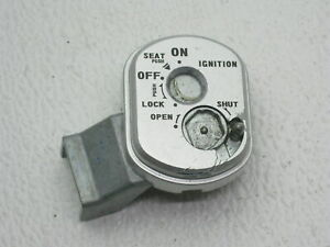 Honda NHX110 NHX 110 Elite Scooter #A237 Ignition Switch Housing / Cover / Mount