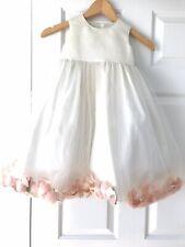 Girls Ivory Tulle Flower Girl Dress Size 4T