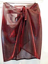 New Bikini Wrap Skirt Sarong Cover Up Beachwear by Baya Blue Made in U.S.A.