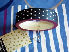 BNWT *Gudrun Sjoden* recycled wood dotty colour pop bangle