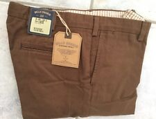 NWT-Bills khakis M4-BBV4 Size 33X33 PLAIN VINTAGE TWILL TRIM/LOW RISE $165