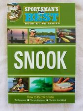 Sportsman's Best Snook Book with Dvd by Brett Fitzgerald Brand New
