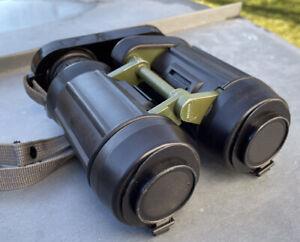 Zeiss Jena EDF 7x40 DF binoculars German Army Navy NATO scope Service Checked