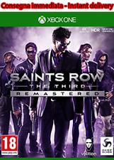 Saints Row The Third Remastered Xbox OneNO CD NO KEY (LEGGERE LA DESCRIZIONE)