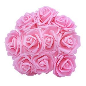 10Pcs Artificial Rose Flowers Bridal Bouquets For Wedding Home Party Decorations