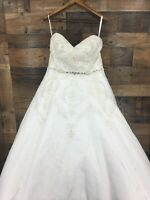Disney Fairytale Weddings Alfred Angelo 246W 2015 Tiana Inspired Wedding Gown