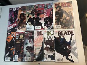 Blade (2006) #1 - 12 (VF/NM) Complete Set Howard Chaykin art Vampire Hunter