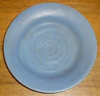 Blue Glaze Studio Art Pottery Plate - Anne Adams Umlauf - 7 5/8""