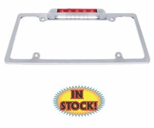 United Pacific 50148 - License Plate Frame with 3rd Brake Light