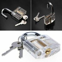 Locksmith Transparent Visable Cutaway Practice Padlock training·New Lock Y8O7