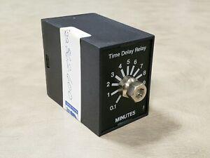 Quincy 122862-600 OEM Air Compressor Timer 600-Sec 10-min 120V Time Delay Relay