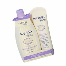 Aveeno Baby Calming Comfort Bath & Lotion Set, Baby Skin Care Products with N.