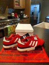 AW x Adidas Originals Bball Soccer Alexander Wang Bold Orange B43593 Size 9.5