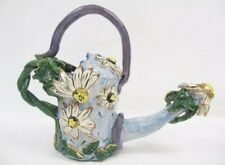 Blue Sky Clayworks Heather Goldminc Daisy Flowers Spouted Watering Can