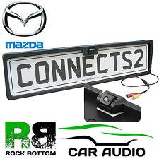 MAZDA Rear View Reversing Parking Colour Camera & Car Number Plate Frame