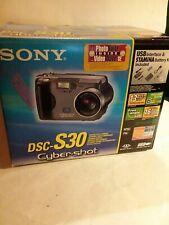 Sony Cyber-shot DSC-S30 1.3MP Digital Camera