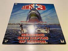 Jaws 3 Laserdisc LD englisch Der weiße Hai III