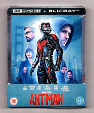Ant-Man Steelbook 4K Ultra HD + 2D Blu-ray NEU & OVP