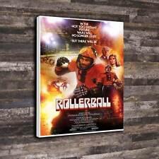 "Rollerball Film POSTER WALL ART STAMPA TELA A1.30""x20"" - 30mm TELAIO in profondità"