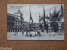 R&L Postcard: Venice, Venezia, Church St Mark and Clock Tower, Italy