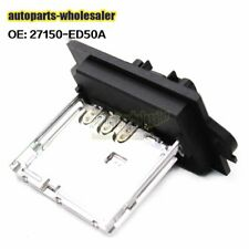 For Nissan Cube TIIDA Versa 2007-2011 27150ED00A Blower Motor Resistor Heater