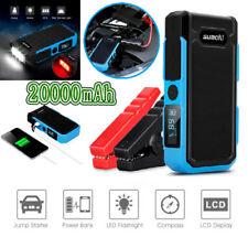 Suaoki 800A Peak Car Jump Starter 20000mAh cargador batería arranque emergencia