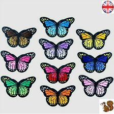 Embroidery Butterfly Sew  On Patch