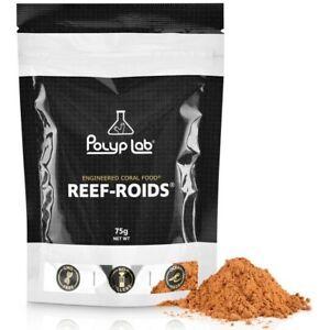Polyp Lab Reef-Roids 75g Engineered Coral Food for Reef Tank Aquarium Reef Roids