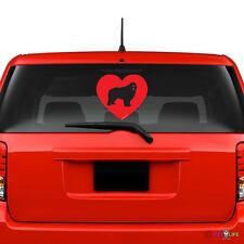 Love Newfoundland Windshield Sticker Vinyl Auto Window newf newfie