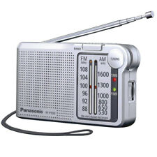 Panasonic RF-P150DEG-S Portable FM/AM Radio - Silver New Uk