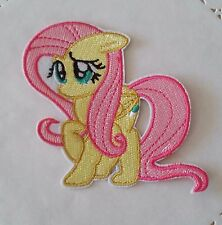 My Little Pony Flutteryshy Iron On Sew On Patch Clothes Girls Fairy