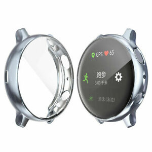 TPU Screen Protector Cover Case For Samsung Galaxy Watch Active 1 / 2 40mm 44mm