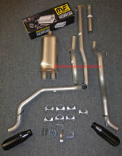 """13 - 15 Toyota Tacoma Cat-back Dual Exhaust Side Exit - w/ MagnaFlow 18"""" Body"""