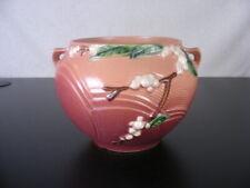 "Roseville Art Pottery Snowberry #1J-6"" Jardiniere Pink Vintage"
