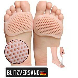 Vorfuß Fußpads Fußpolster Silikon Vorfuß Schuhe Pads Vorfußpolster