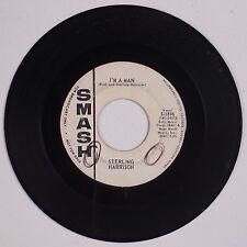 STERLING HARRISON: I'm A Man USA SMASH DJ Promo NORTHERN SOUL R&B 45 Hear