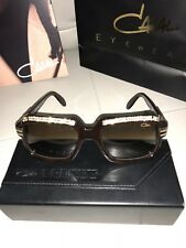 Cazal 607 /3 C504 56/18 Brown Crystal Limited Edition Sunglasses