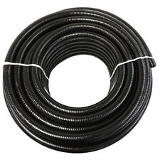"""3"""" Dia. Black Flexible Pvc Pipe for Pools, Spas, Ponds and Water Gardens"""
