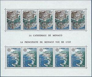 MONACO - BF N°14 - Bloc Feuillet Neuf** // 1978 - MONUMENTS