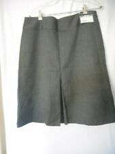 NWT Size 12  Geoffrey Beene lined Boot skirt Skirt Grey Retail $50